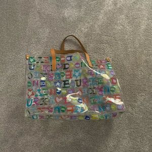 Dooney & Bourne Clear Plastic Tote